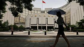 China central bank cuts some banks' reserve requirement ratios by 50 bps