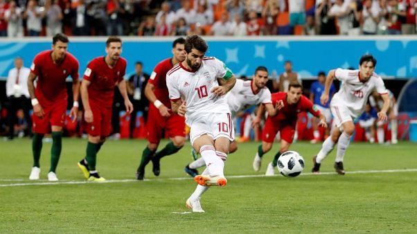 إيران تخطف التعادل مع البرتغال في الوقت المحتسب بدل الضائع