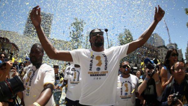 NBA: Durant devrait prolonger avec Golden State