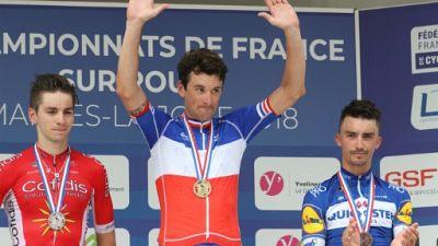 Championnat de France de cyclisme: Anthony Roux enfin titré