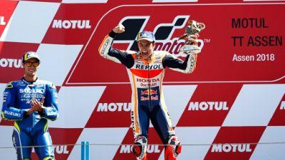 MotoGP: nouvelle victoire pour Marc Marquez au GP des Pays-Bas, Zarco 8e