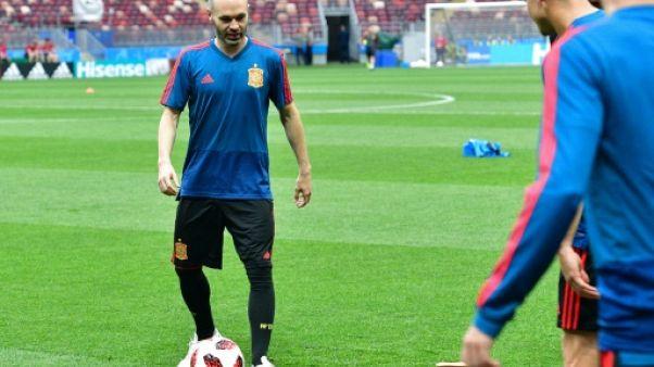 Espagne-Russie: Iniesta et Cheryshev sur le banc, Asensio titulaire