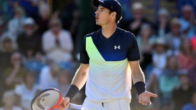 """Wimbledon: forfait d'Andy Murray """"pas assez en forme"""""""