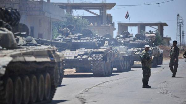حزب الله: مسلحو المعارضة في بلدة بجنوب غرب سوريا يوافقون على تسوية مع الحكومة