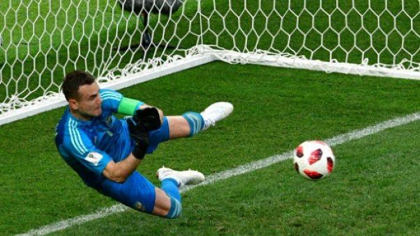 Mondial: la Russie élimine l'Espagne 4 tirs au but à 3 (1-1 après prolongation)