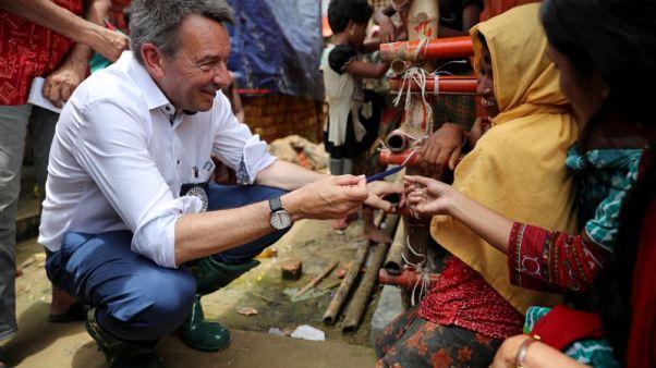 رئيس الصليب الأحمر يقول ميانمار غير مستعدة لعودة الروهينجا