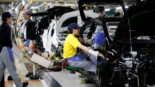 مؤشر ياباني يشير لنمو الإنتاج الصناعي لكن التصدير ينكمش