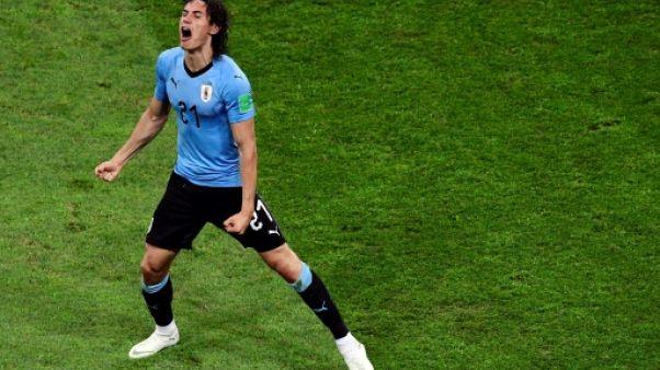 """Uruguay: Cavani """"au repos"""", """"n'a pas encore fait d'examens"""""""