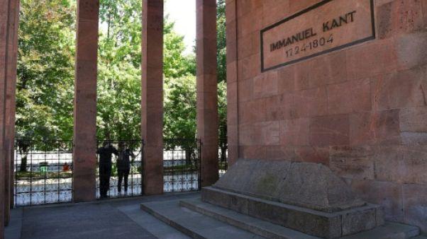 Mondial: le tombeau de Kant, repaire des philosophes en crampons