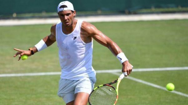 Wimbledon: Rafael Nadal veut en finir avec la disette