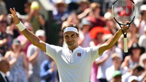 Wimbledon: Roger Federer réussit ses débuts
