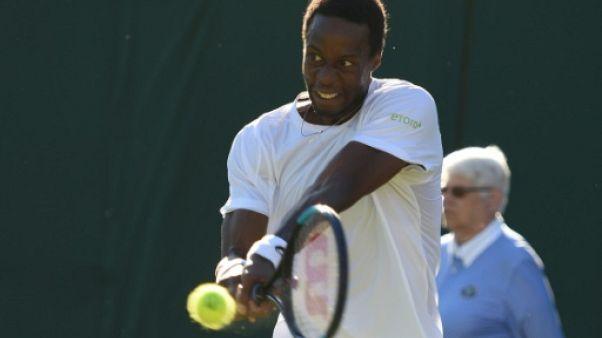 Wimbledon: Monfils écarte Gasquet en trois sets