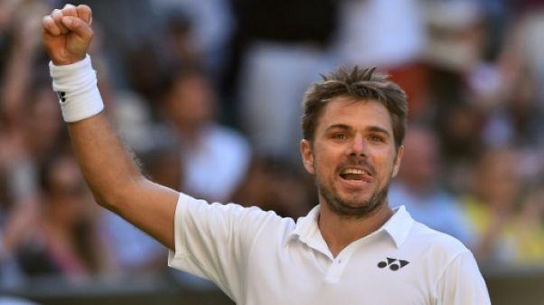 Wimbledon: Wawrinka vient à bout de Dimitrov