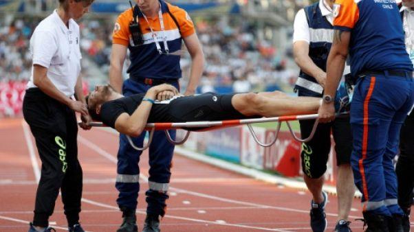 Athlétisme: Lemaitre forfait pour les championnats de France et d'Europe (fédération)