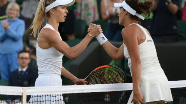 Wimbledon: la 5e mondiale Svitolina chute d'entrée