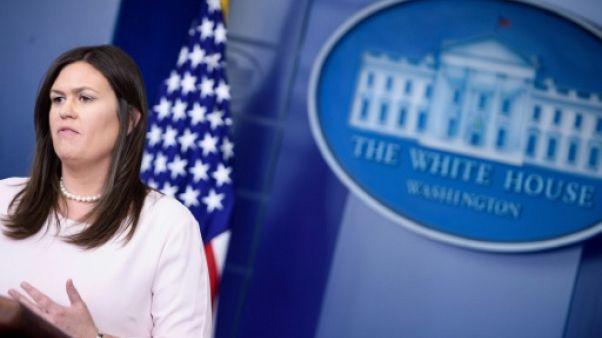 """Washington """"ne reconnaît pas"""" l'annexion de la Crimée par la Russie"""