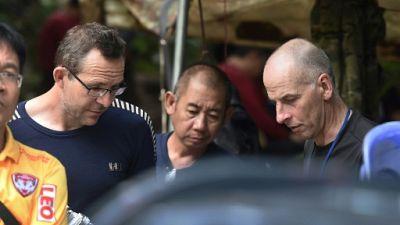 Thaïlande: les sauveteurs, deux volontaires britanniques passionnés de plongée