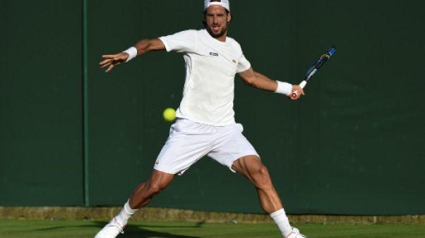 Wimbledon: Lopez bat le record de participations consécutives en Grand Chelem de Federer