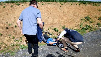 Décès de Goolaerts sur Paris-Roubaix: pas de stupéfiants, selon les premiers examens