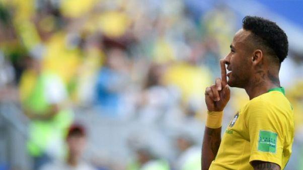 Mondial-2018: le Brésil a endossé le costume du favori
