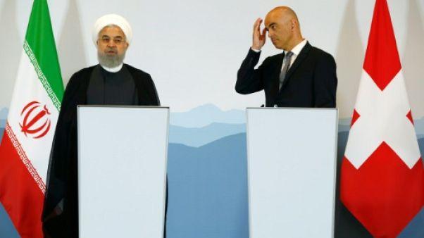 """L'Iran qualifie de """"pure imagination"""" la menace américaine sur ses ventes de pétrole"""