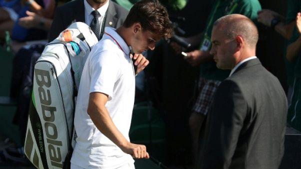Wimbledon: Thiem, finaliste de Roland-Garros, abandonne au 1er tour