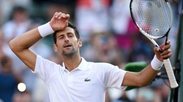 Wimbledon: Djokovic qualifié sans forcer pour le deuxième tour