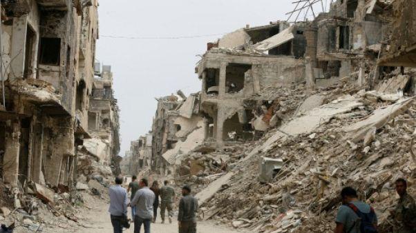 Syrie: visite d'un responsable de l'ONU au camp palestinien de Yarmouk