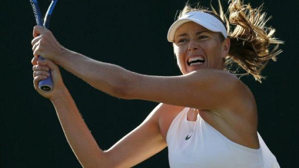 Wimbledon: Sharapova s'incline dès le 1er tour devant la 132e mondiale