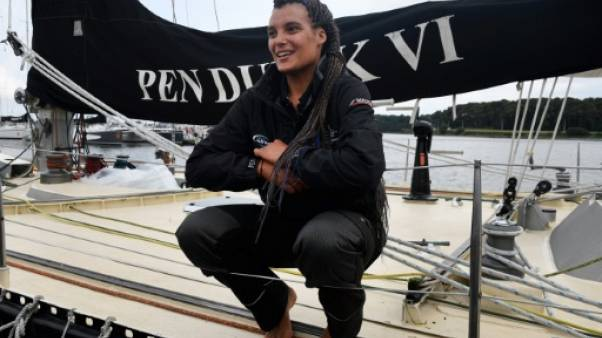 Marie Tabarly est partie à la rencontre du monde sur son beau bateau