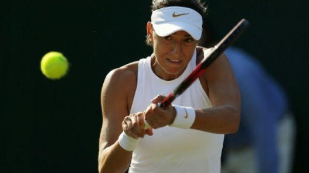 Wimbledon: Garcia tombe de haut, Sharapova aussi