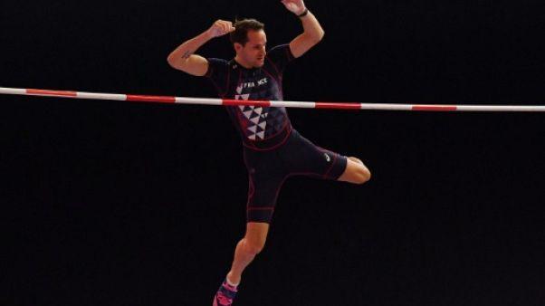Athlétisme: la perche à Lausanne avec vue sur le Léman