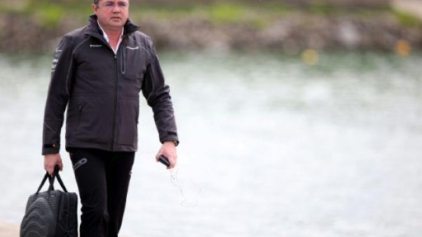 F1: démission du directeur de la compétition de McLaren Eric Boullier