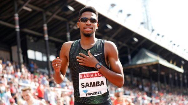 """Athlétisme: Samba rêve de battre le record du monde l'an prochain """"à la maison"""" à Doha"""