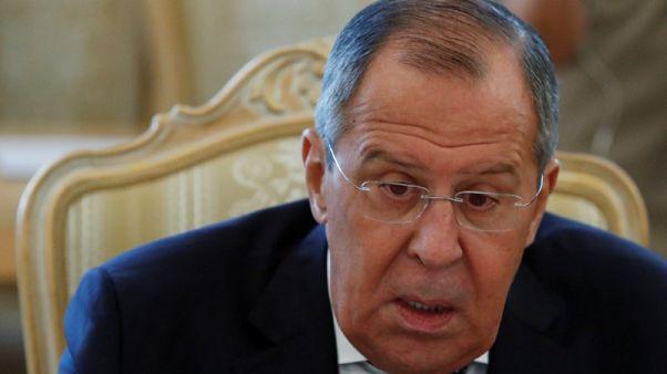 لافروف يرجح مناقشة كل القضايا المتعلقة بسوريا في قمة بوتين وترامب