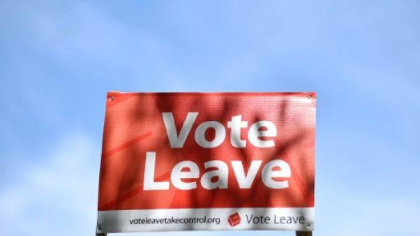 GB: la campagne officielle pro-Brexit se défend d'avoir triché
