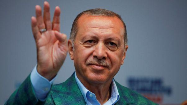 تلفزيون: إردوغان فاز بنسبة 52.59 % من الأصوات في انتخابات تركيا