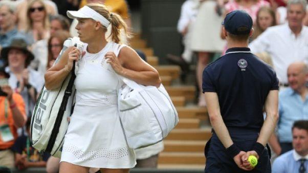 Wimbledon: la N.2 mondiale Caroline Wozniacki chute au 2e tour