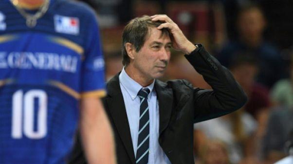 Volley: au bout du suspense, les Bleus viennent à bout du Brésil