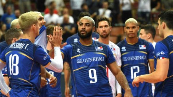 Volley: la France et la Russie s'imposent