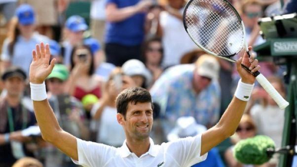 Wimbledon: Djokovic signe une 60e victoire à Londres