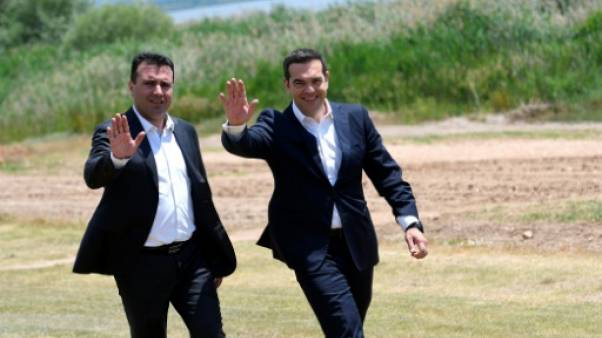 Macédoine: peines de prison pour des violences au parlement