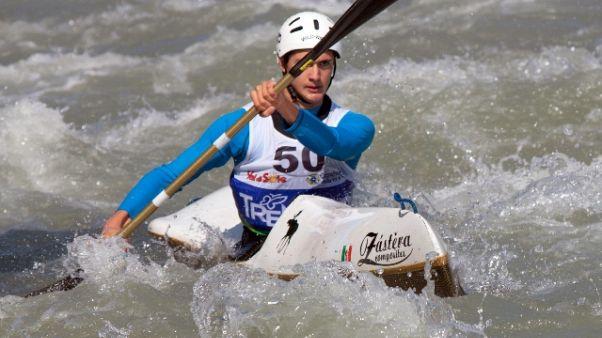 La Val di Sole capitale canoa italiana
