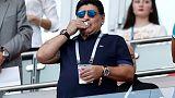 """مارادونا يعتذر عن تعليقات """"السرقة"""""""