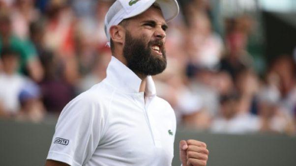 Wimbledon: Paire apprivoise ses démons et s'offre Shapovalov