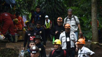 Thaïlande: un plongeur meurt en tentant de sauver les enfants prisonniers d'une grotte