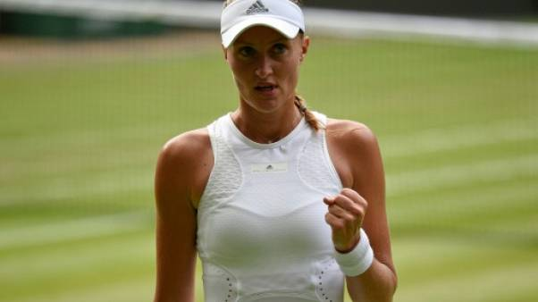 Wimbledon: Kristina Mladenovic face au défi Serena Williams