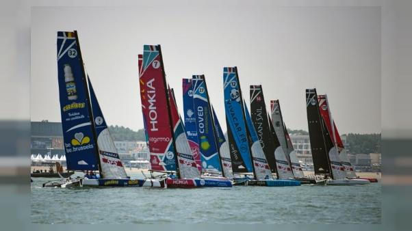 Voile: 26 trios à bord de petits engins spectaculaires au Tour de France