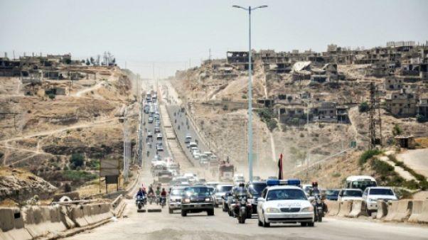 En Syrie, une autoroute stratégique raconte deux années de reconquêtes