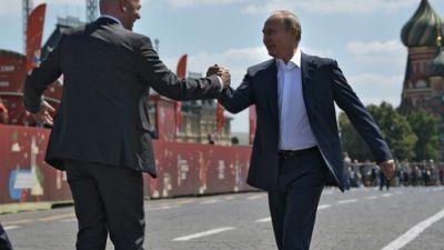 """Mondial-2018: """"Nous sommes tous tombés amoureux de la Russie"""", assure Infantino"""